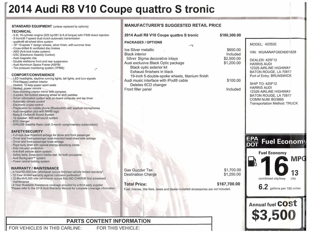 2014 Audi R8 5.2 quattro - Photo 48 - Springfield, MO 65802