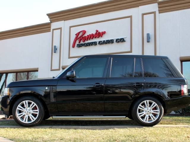2011 land rover range rover hse for sale in springfield mo stock p4128. Black Bedroom Furniture Sets. Home Design Ideas