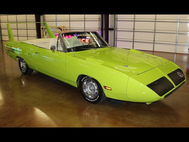 1970 Plymouth Superbird Satellite Convertible 440
