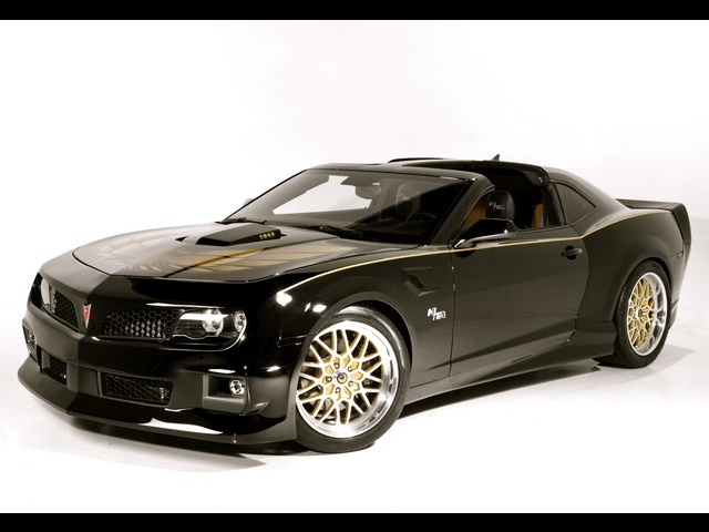 2011 Pontiac Trans Am Hurst Edition Concept With T Tops