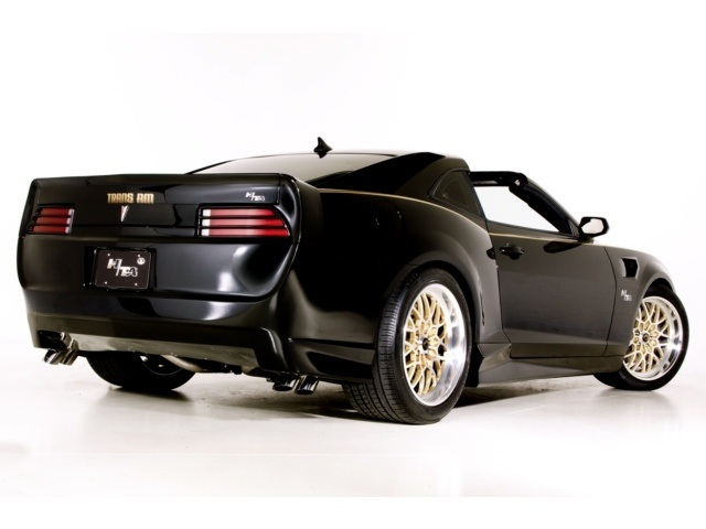 2011 Pontiac Trans Am Hurst Edition Concept with T-Tops
