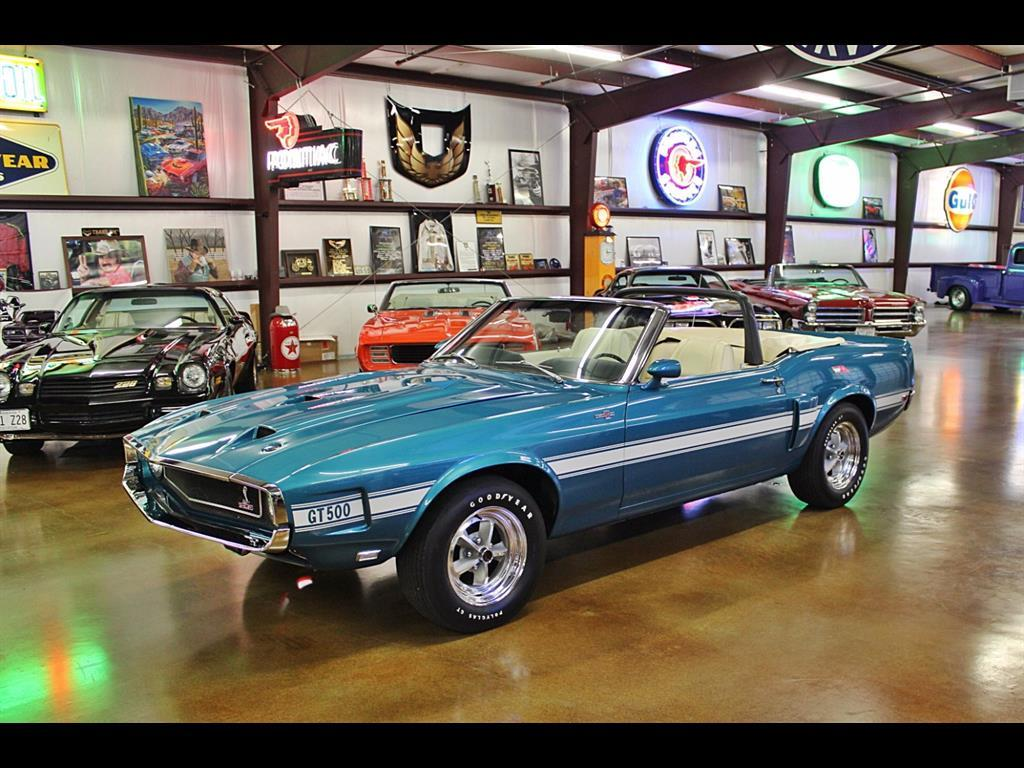 1969 Shelby GT500 Convertible - Photo 1 - , TX 77041