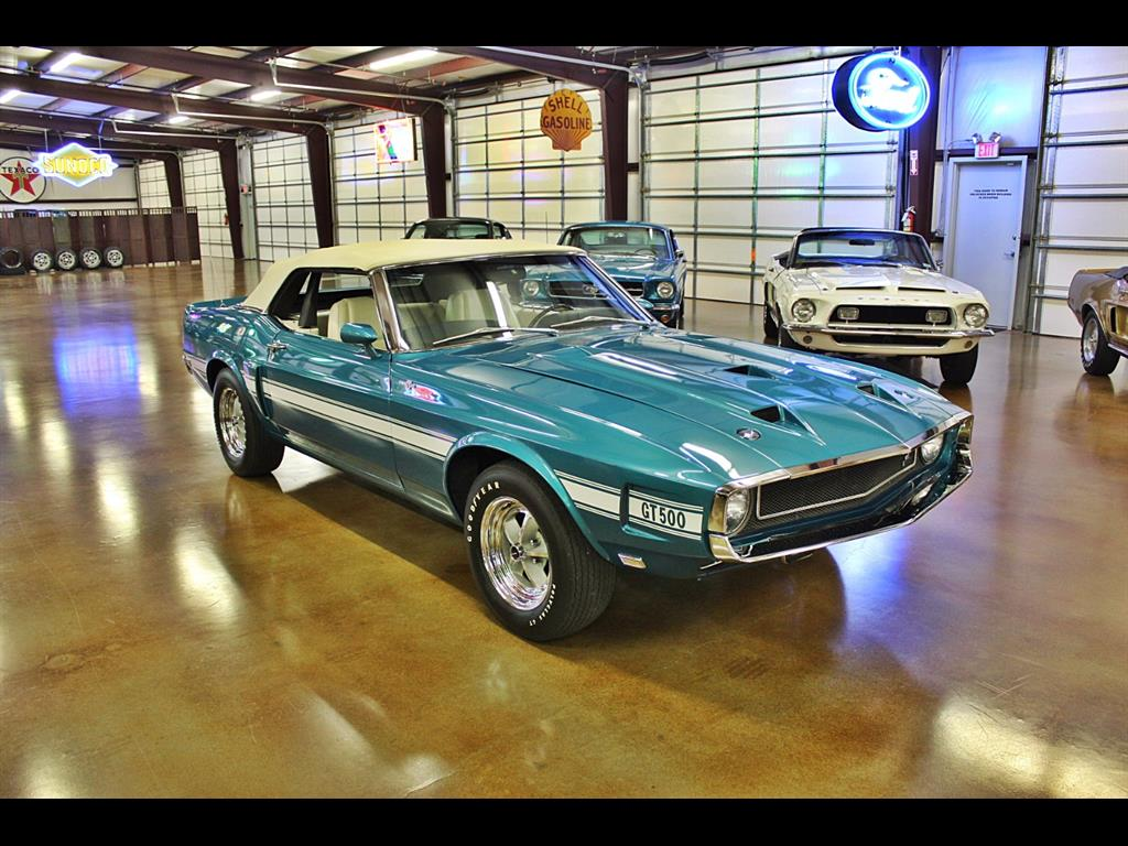 1969 Shelby GT500 Convertible - Photo 16 - , TX 77041