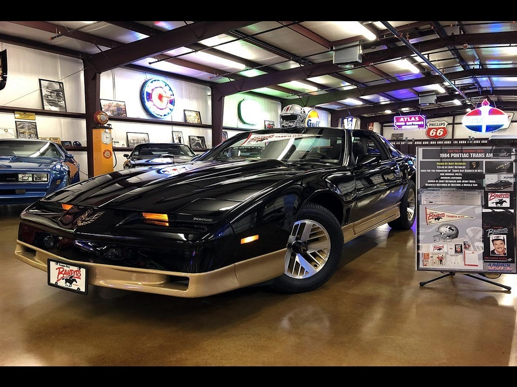 1984 pontiac firebird trans am owned by burt reynolds 1984 pontiac firebird trans am owned by