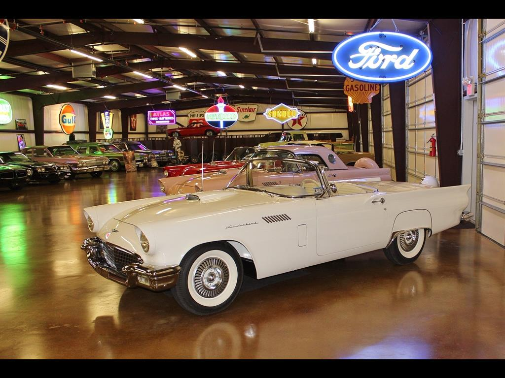 1957 Ford Thunderbird Soft Top Convertible