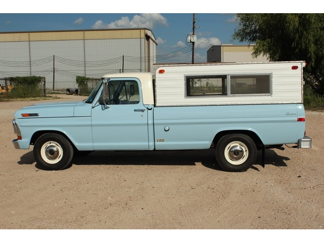 1971 Ford F 100 Long Bed Photo 8 Houston Tx 77041