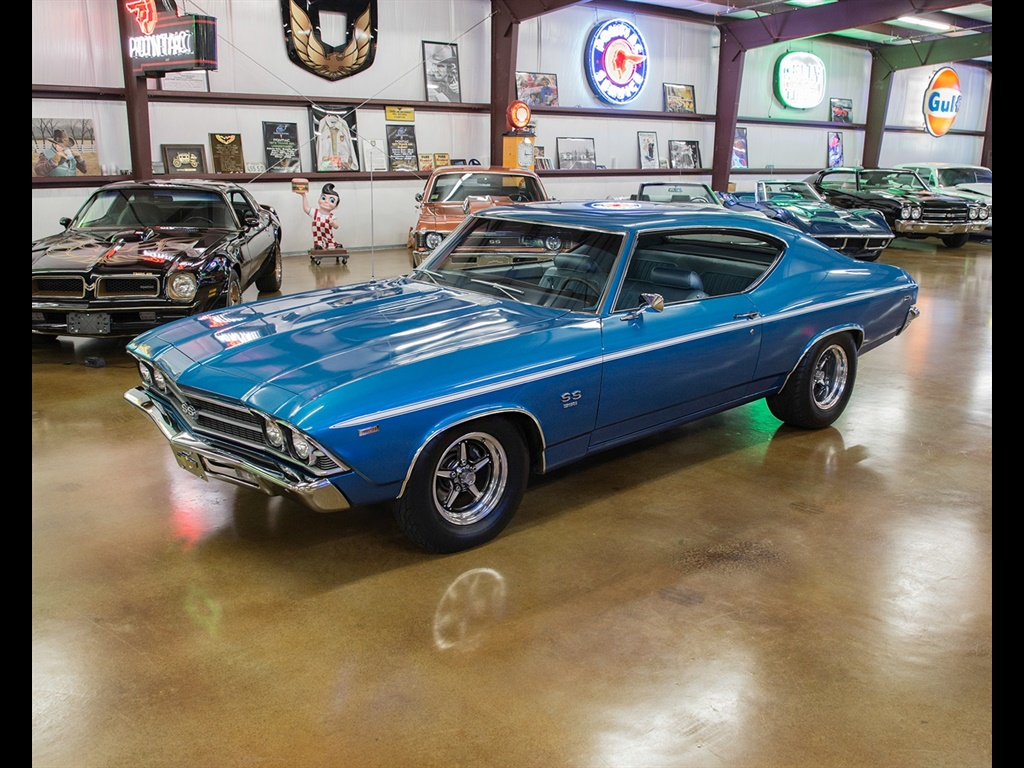 1969 Chevrolet Chevelle with 454 and Cold A/C! - Photo 17 - , TX 77041