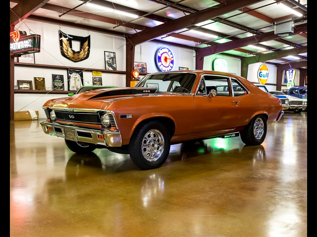 1968 Chevrolet Nova with 496 Cu. In. Engine and 650 HP - Photo 2 - , TX 77041