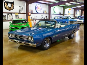 1969 Plymouth Road Runner Convertible with Hemi and A/C