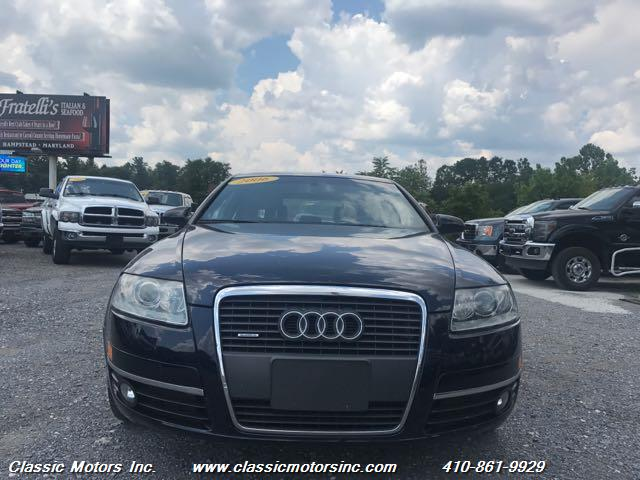 2006 audi a6 3 2 quattro for sale in baltimore md stock 6n087601. Black Bedroom Furniture Sets. Home Design Ideas