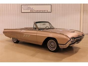 1963 Ford Thunderbird Convertible Convertible