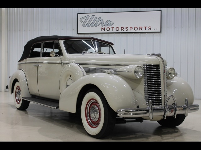 1938 Buick Century Phaeton Convertible Photo 3 Fort Wayne In 46804