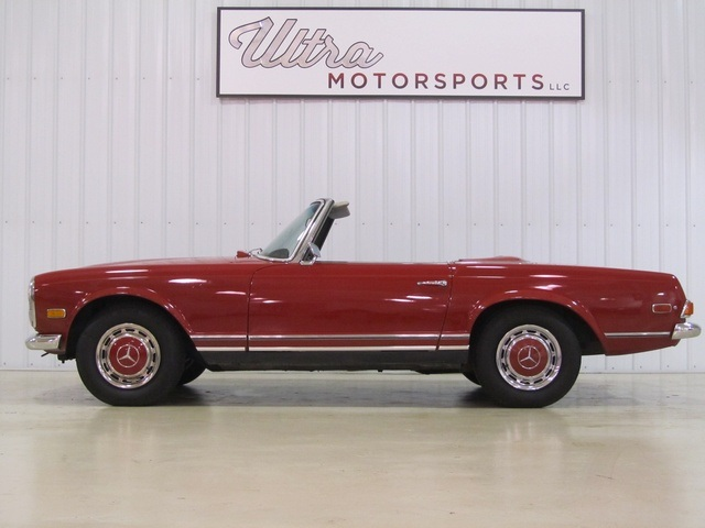 1968 mercedes benz 280sl for sale in fort wayne in for Fort wayne mercedes benz dealership