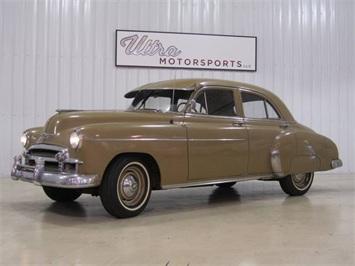 1950 Chevrolet Styleline Deluxe Sedan