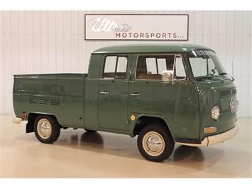 1970 Volkswagen Bus/Vanagon Double Cab Transporter Truck