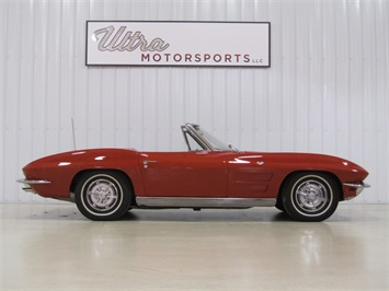 1963 Chevrolet Corvette Sting Ray Roadster Convertible