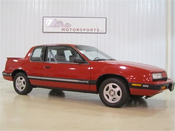1991 Oldsmobile Cutlass Quad 442 W41 Coupe