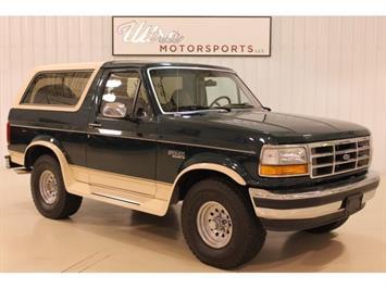 1992 Ford Bronco Eddie Bauer 2dr Eddie Bauer SUV