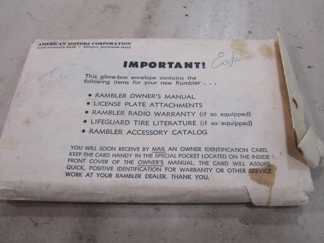1965 AMC Marlin for sale in Fort Wayne, IN | Stock #: UM1139