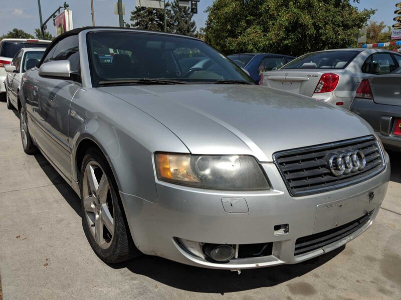 The 2003 Audi A4 1.8T photos