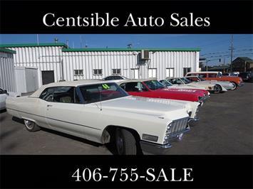 1968 Cadillac DeVille Convertible Sedan