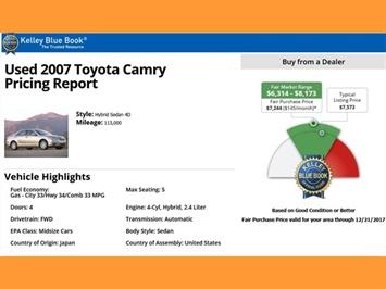 2007 Toyota Camry Hybrid XLE - Photo 23 - San Diego, CA 92126