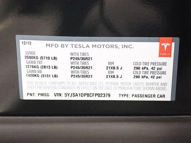 2012 Tesla Model S P85 - Performance - Photo 37 - Rancho Cordova, CA 95742
