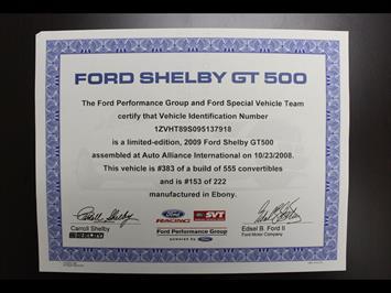 2009 Ford Mustang Shelby GT500 - Photo 38 - Rancho Cordova, CA 95742