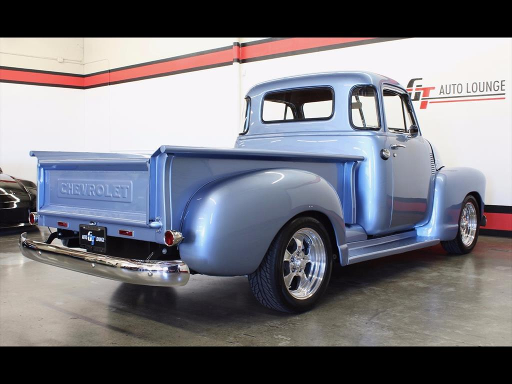 1951 Chevrolet Other Pickups 3100 5 Window For Sale In Rancho Pickup Truck Photo 8 Cordova Ca