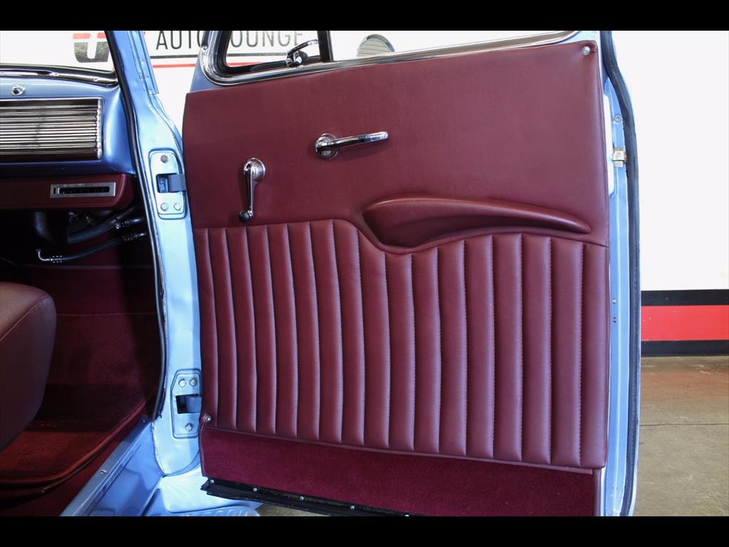 1951 Chevy Truck Interior