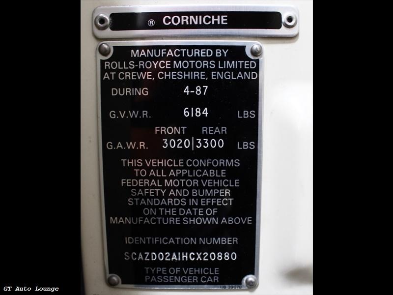 1987 Rolls-Royce Corniche II - Photo 42 - Rancho Cordova, CA 95742