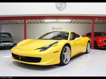2010 Ferrari 458 Italia Coupe