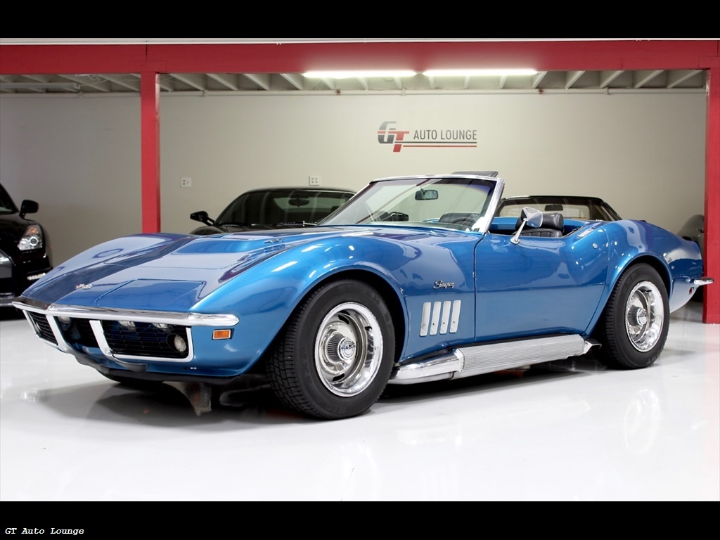 Corvette Stingray 1969 >> 1969 Chevrolet Corvette Stingray For Sale In Ca Stock 103147
