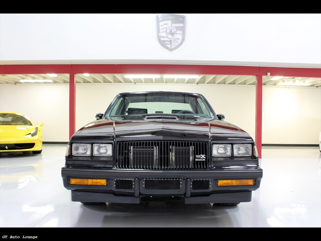 Buick Grand National Gnx For Sale >> 1987 Buick Grand National Gnx For Sale In Ca Stock 103031