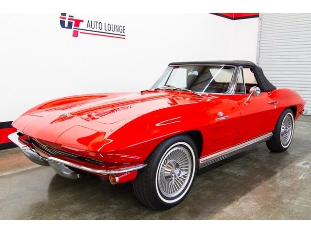 1964 Chevrolet Corvette STINGRAY ROADSTER - Photo 5 - Rancho Cordova, CA 95742