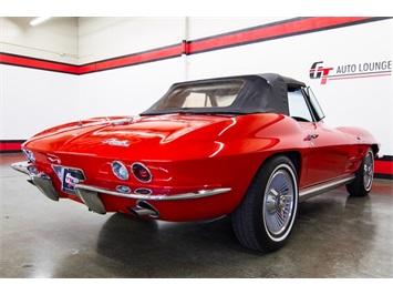 1964 Chevrolet Corvette STINGRAY ROADSTER - Photo 11 - Rancho Cordova, CA 95742