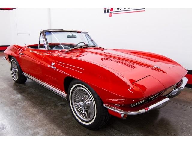 1964 Chevrolet Corvette STINGRAY ROADSTER - Photo 2 - Rancho Cordova, CA 95742