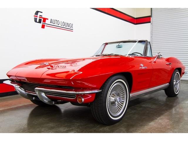 1964 Chevrolet Corvette STINGRAY ROADSTER - Photo 3 - Rancho Cordova, CA 95742