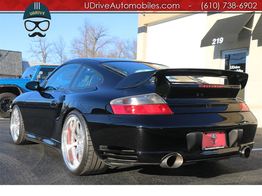 2002 Porsche 911 6 Speed 996 Turbo Coupe Serv Hist 20in Whls Mods! - Photo 15 - West Chester, PA 19382