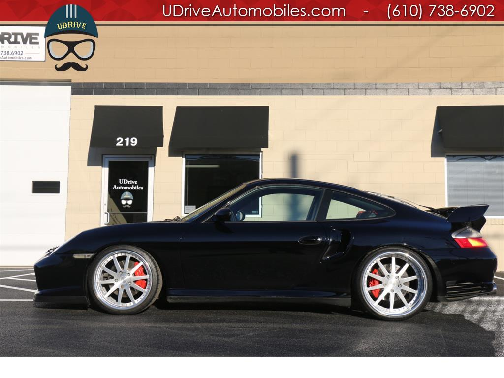 2002 Porsche 911 6 Speed 996 Turbo Coupe Serv Hist 20in Whls Mods! - Photo 1 - West Chester, PA 19382