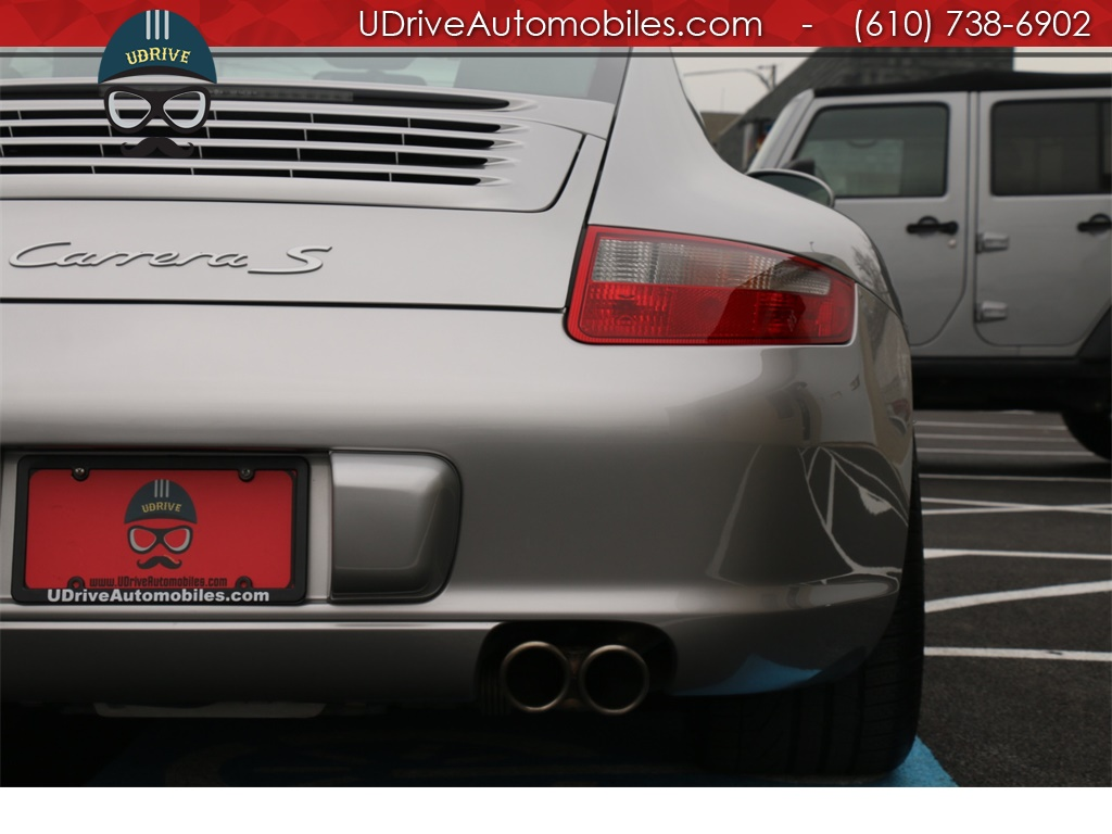 2005 Porsche 911 7k Miles 911S 997 6 Spd PCCB's Sport Seats Chrono - Photo 13 - West Chester, PA 19382