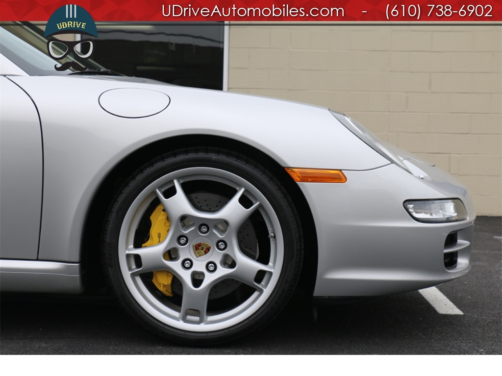 2005 Porsche 911 7k Miles 911S 997 6 Spd PCCB's Sport Seats Chrono - Photo 9 - West Chester, PA 19382