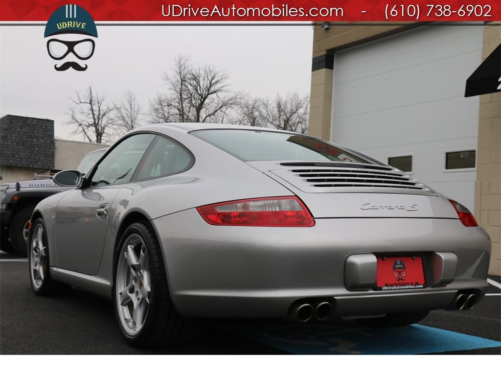 2005 Porsche 911 7k Miles 911S 997 6 Spd PCCB's Sport Seats Chrono - Photo 16 - West Chester, PA 19382