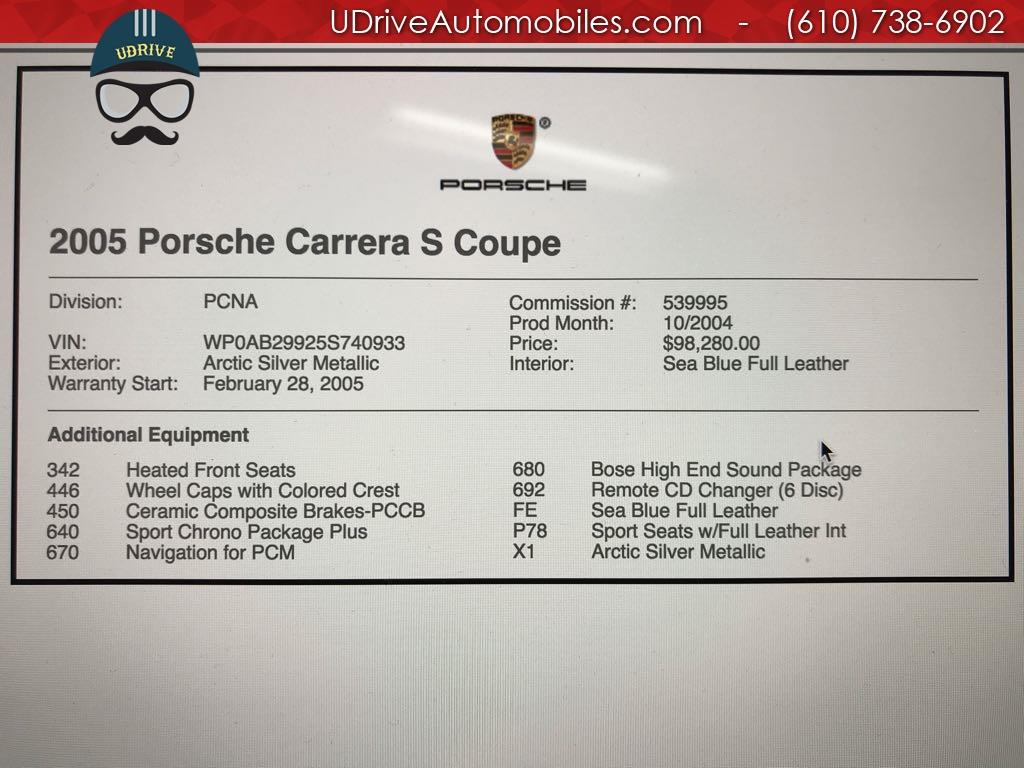2005 Porsche 911 7k Miles 911S 997 6 Spd PCCB's Sport Seats Chrono - Photo 2 - West Chester, PA 19382