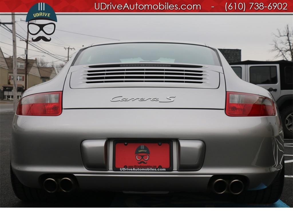 2005 Porsche 911 7k Miles 911S 997 6 Spd PCCB's Sport Seats Chrono - Photo 14 - West Chester, PA 19382