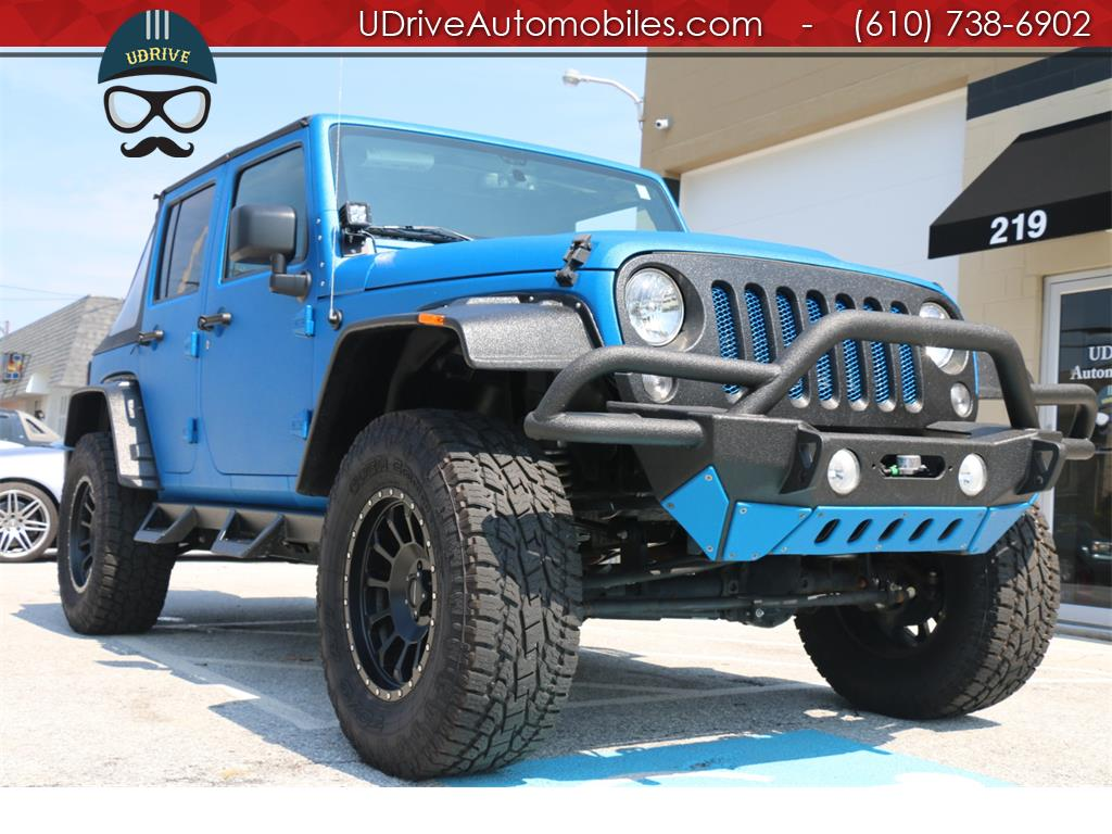 2016 Jeep Wrangler Unlimited Sport Lifted Customized Inside and Out - Photo 8 - West Chester, PA 19382