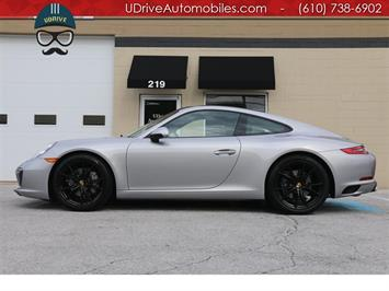 2017 Porsche 911 Carrera 3k Miles GT Silver Htd Vent Sts $109k MSRP Coupe