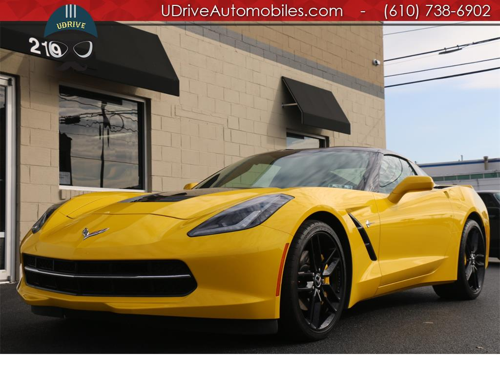 2015 Chevrolet Corvette Stingray 2LT ZF1 Appearance Vent Sts $67,850 MSRP! - Photo 2 - West Chester, PA 19382