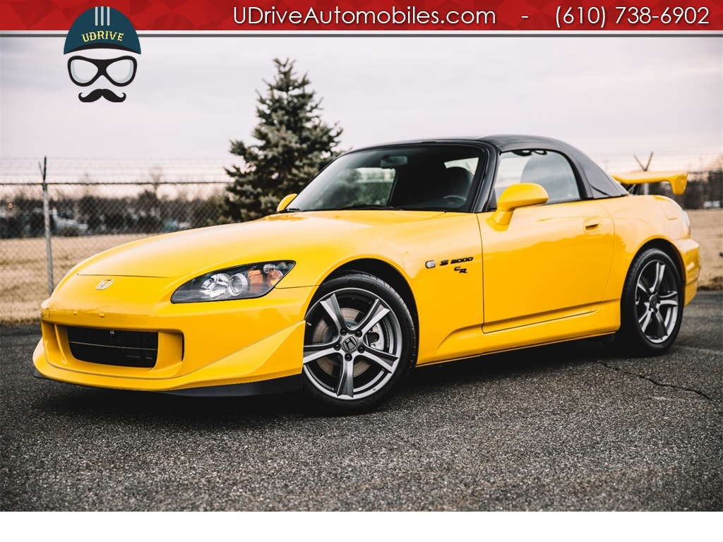 2008 Honda S2000 Cr Club Racer Delete 13k Miles New Tires Photo 1 West