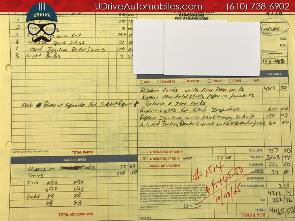 1970 Porsche 911 911T Detailed Service History 1 Owner Video - Photo 47 - West Chester, PA 19382